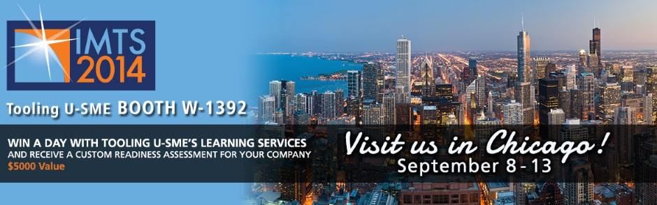 Win a day with Tooling U-SME's Learning Services and Recieve a Custom Readiness Assessment for your Company at IMTS