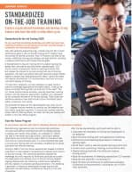 Learning Services Standardized On-The-Job Training