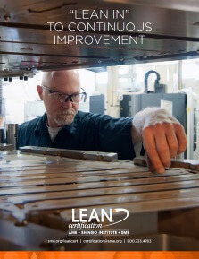 """Lean In"" to Continuous Improvement"